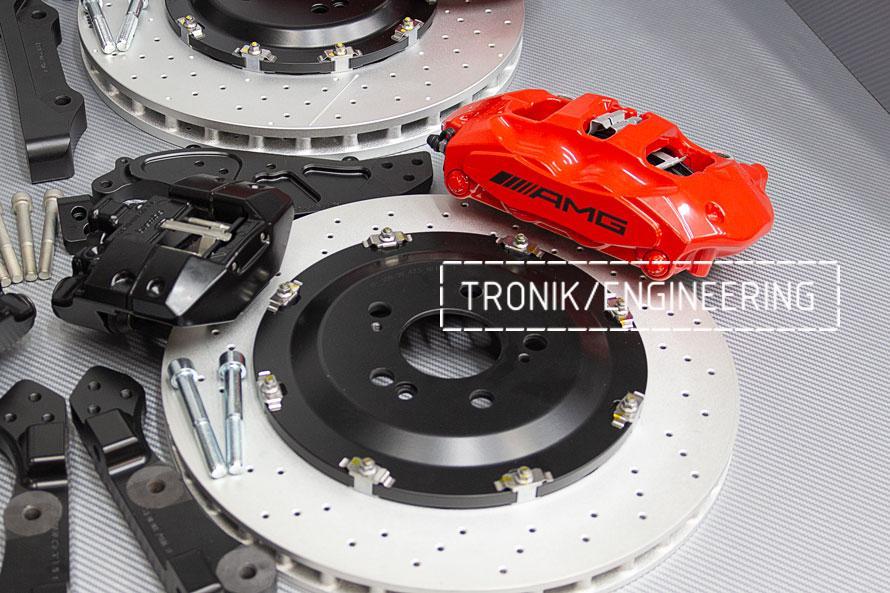Комплект тормозной системы Mercedes-Benz W167. фото 4