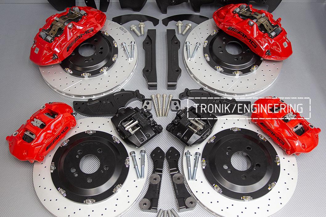 Комплект тормозной системы Mercedes-Benz W167. фото 6