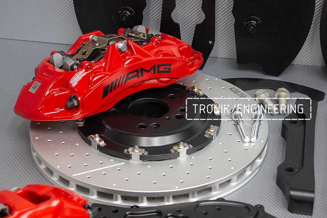 Комплект тормозной системы Mercedes-Benz W167. фото 8