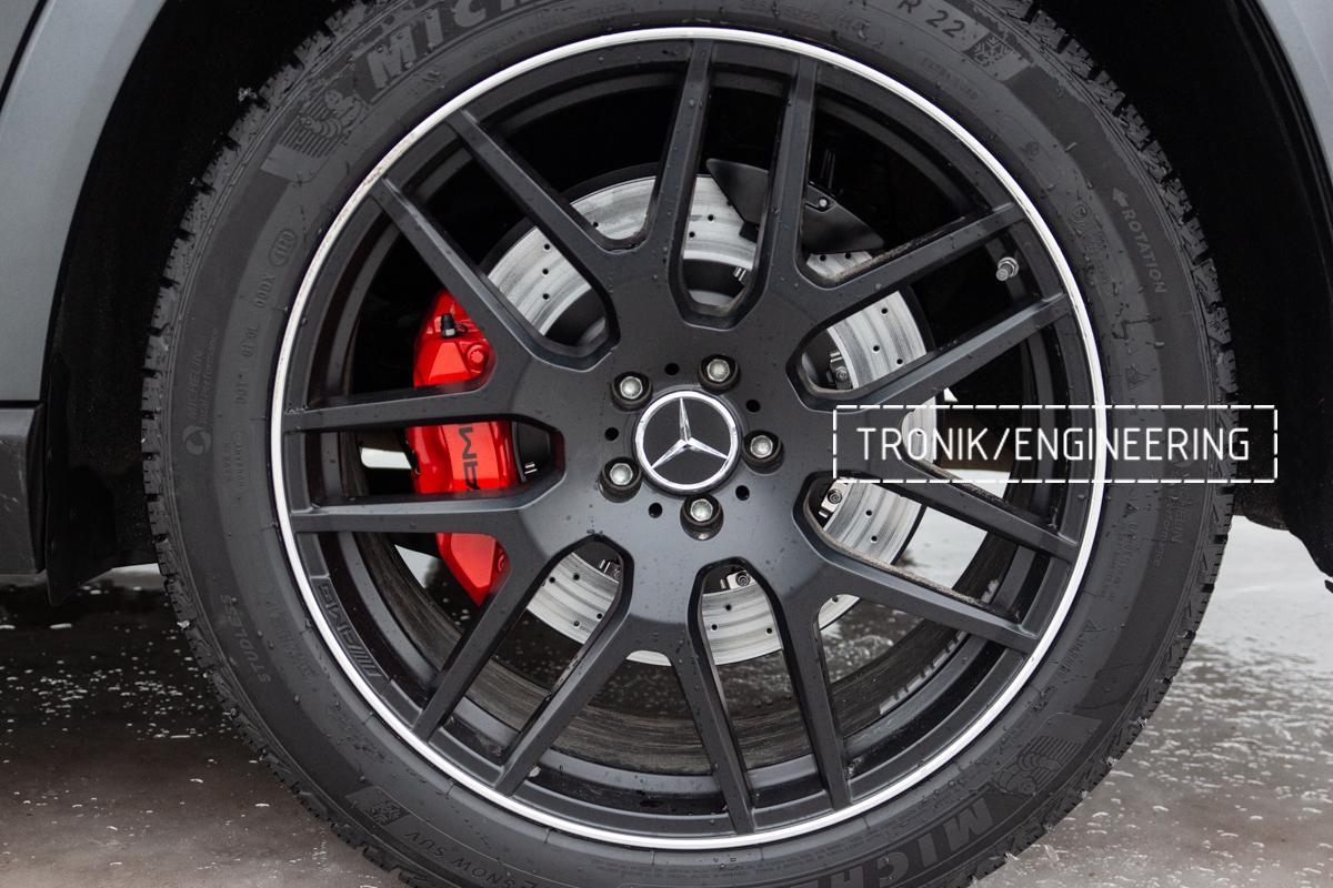 Тормозная система Mercedes-Benz W167. фото 10