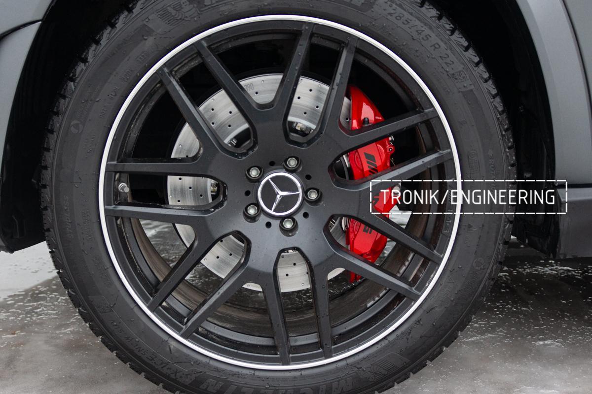 Тормозная система Mercedes-Benz W167. фото 11