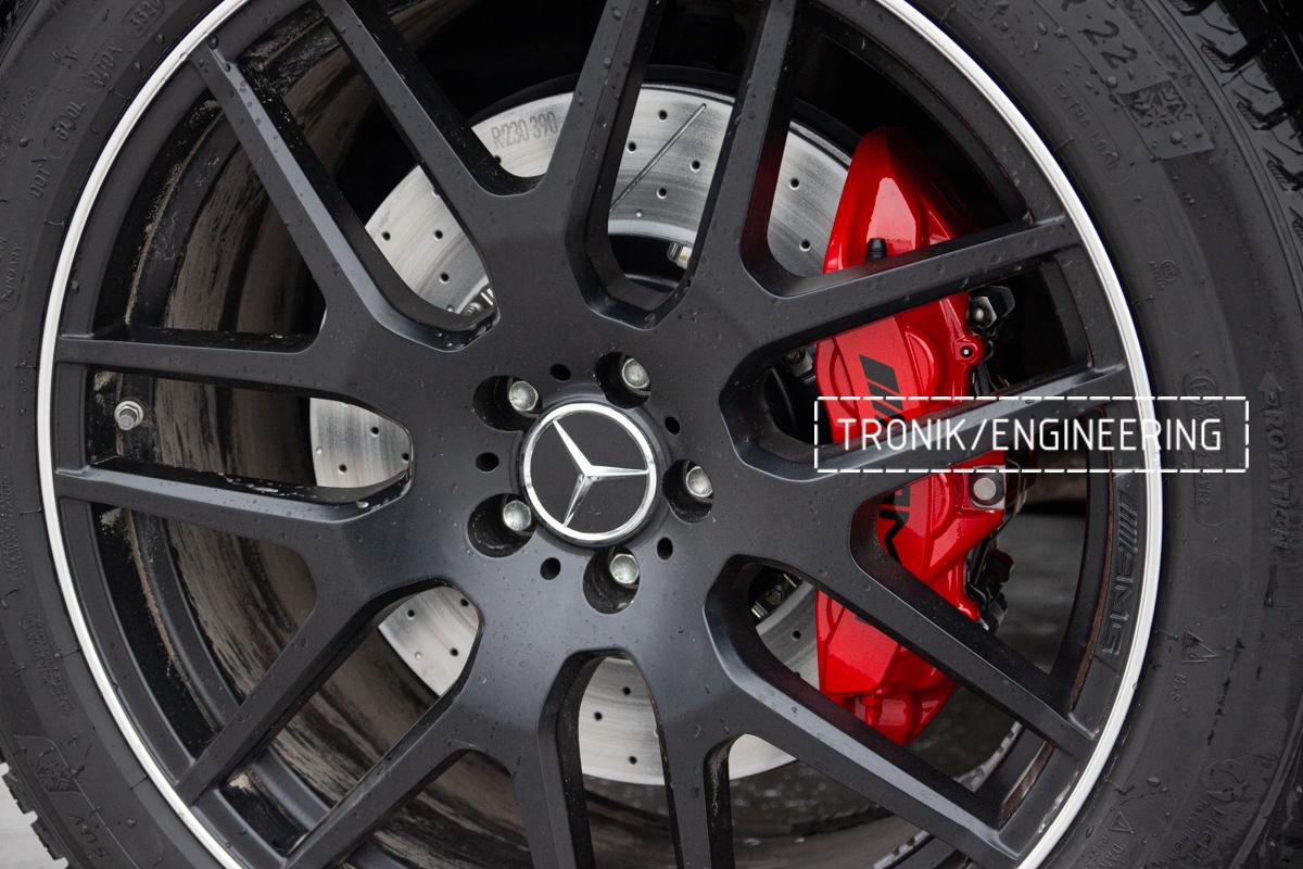 Тормозная система Mercedes-Benz W167. фото 12