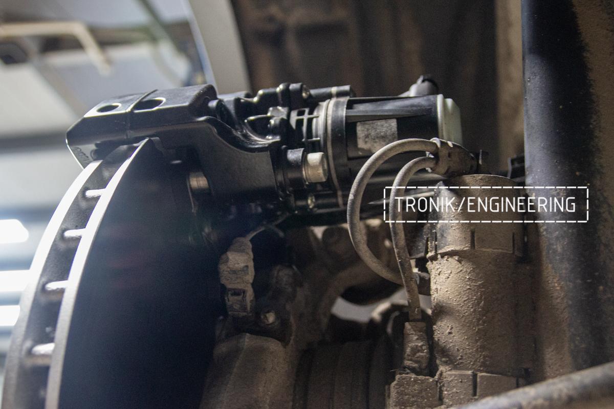 Стояночный тормоз Mercedes-Benz W167. фото 5