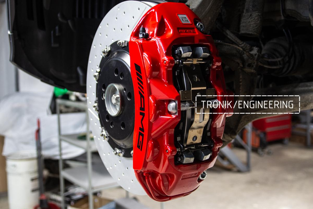Тормозная система передней оси Mercedes-Benz W167. фото 6