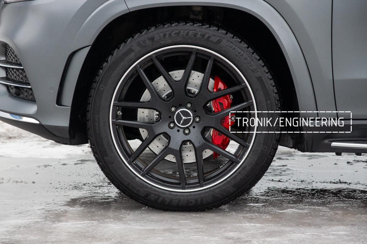 Тормозная система Mercedes-Benz W167. фото 7