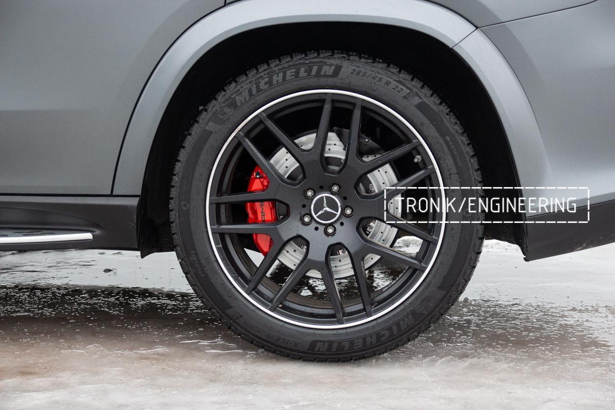 Тормозная система Mercedes-Benz W167. фото 9