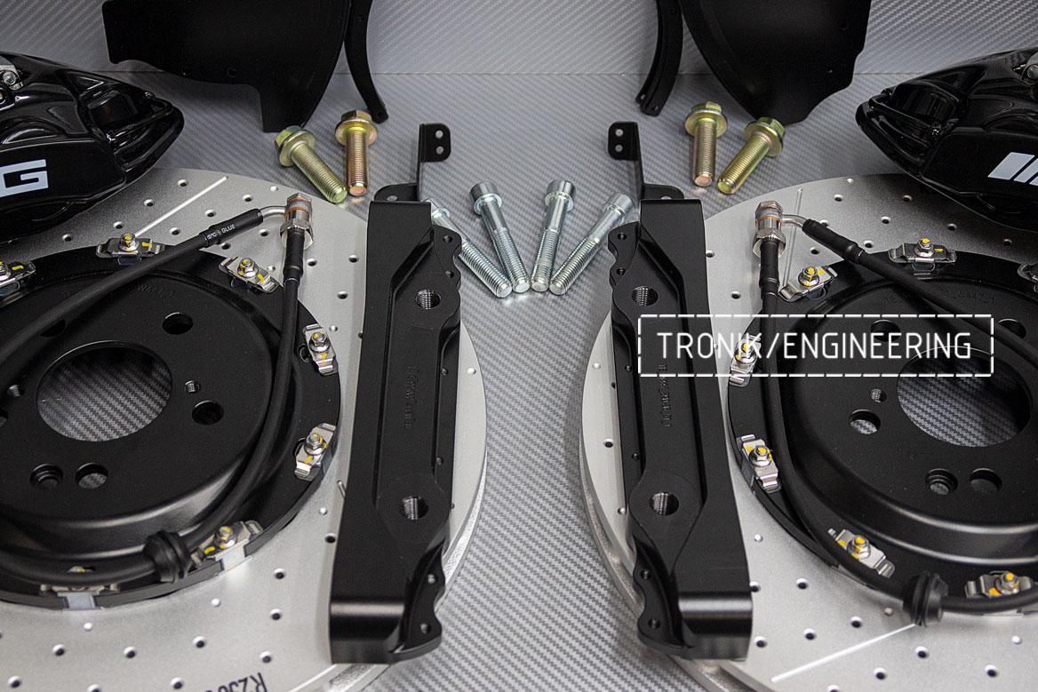 Тормозная система Mercedes-Benz W447. фото 3