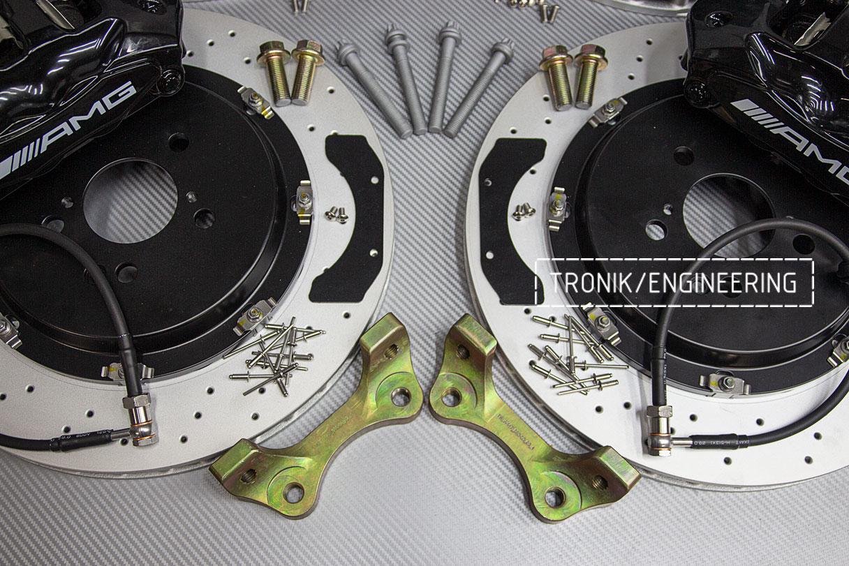 Тормозная система Mercedes-Benz W447. фото 4