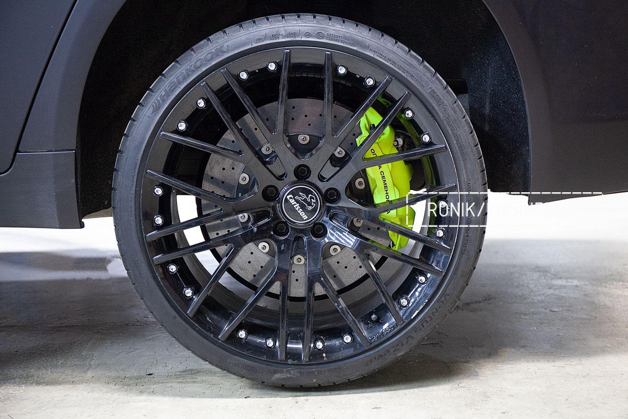 Карбон-керамические тормоза BMW 760 F02. фото 4