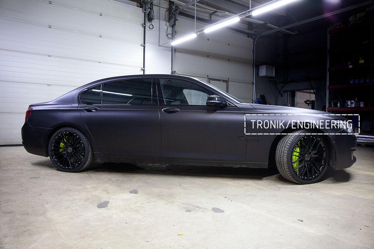 Карбон-керамические тормоза BMW 760 F02. фото 6