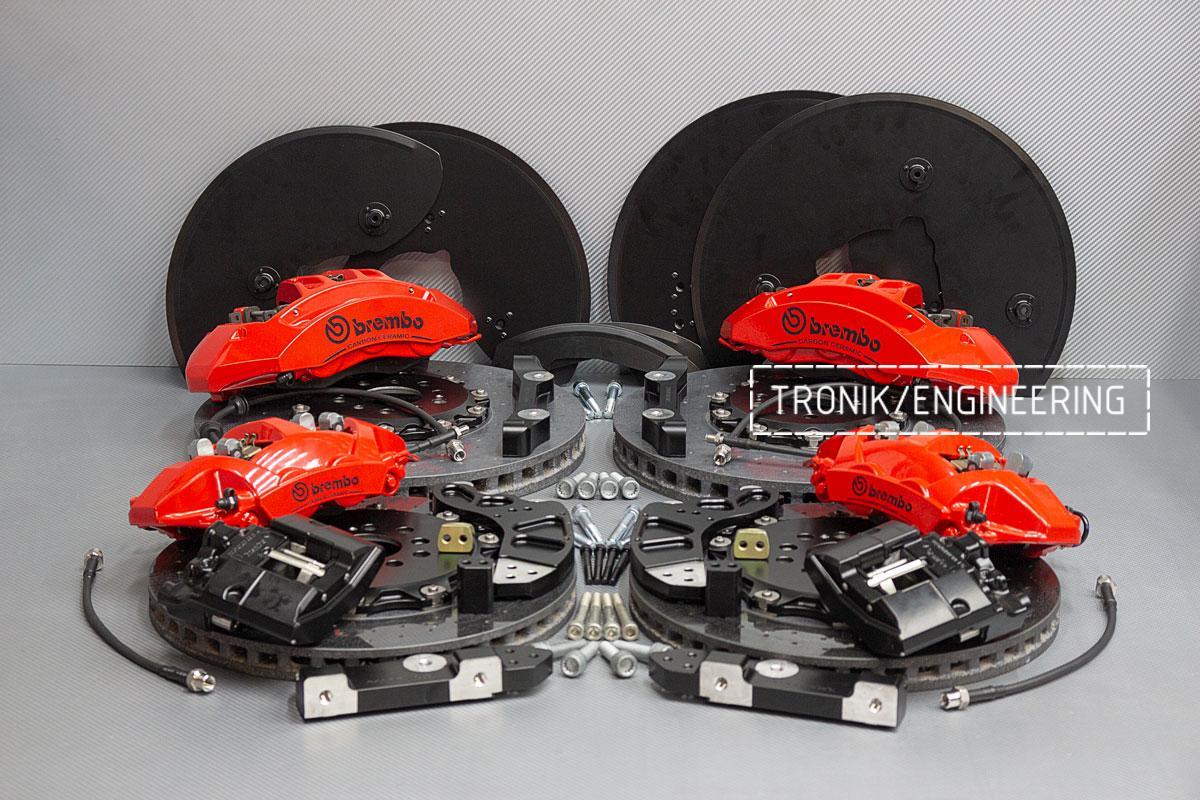 Комплект карбон-керамической тормозной системы BMW X5/X6 F95/F96. фото 1