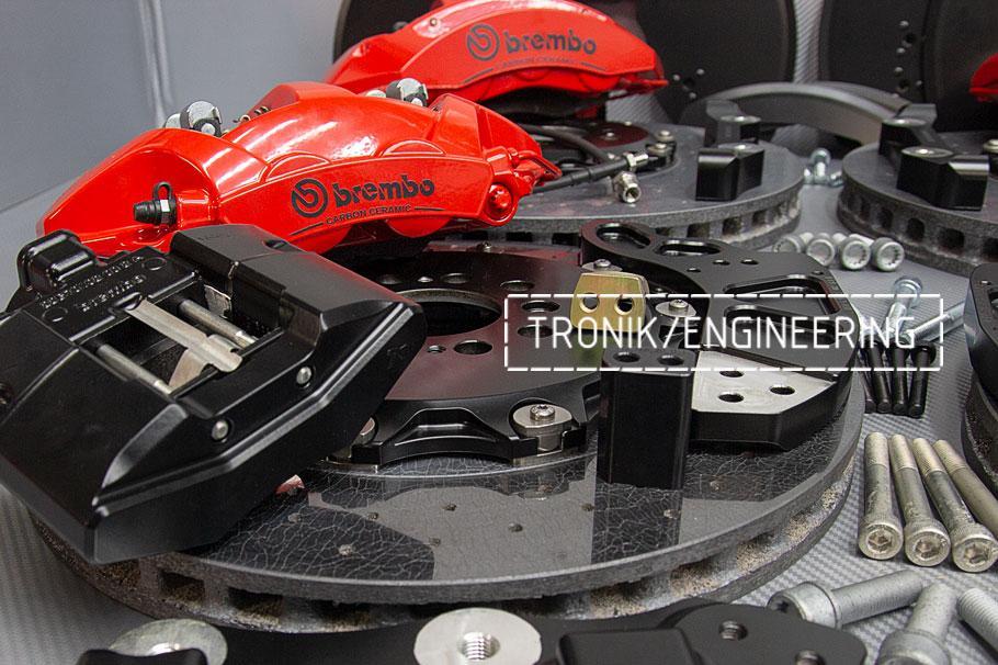Комплект карбон-керамической тормозной системы BMW X5/X6 F95/F96. фото 2