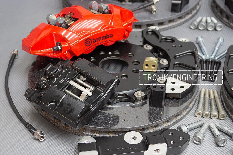 Комплект карбон-керамической тормозной системы BMW X5/X6 F95/F96. фото 3
