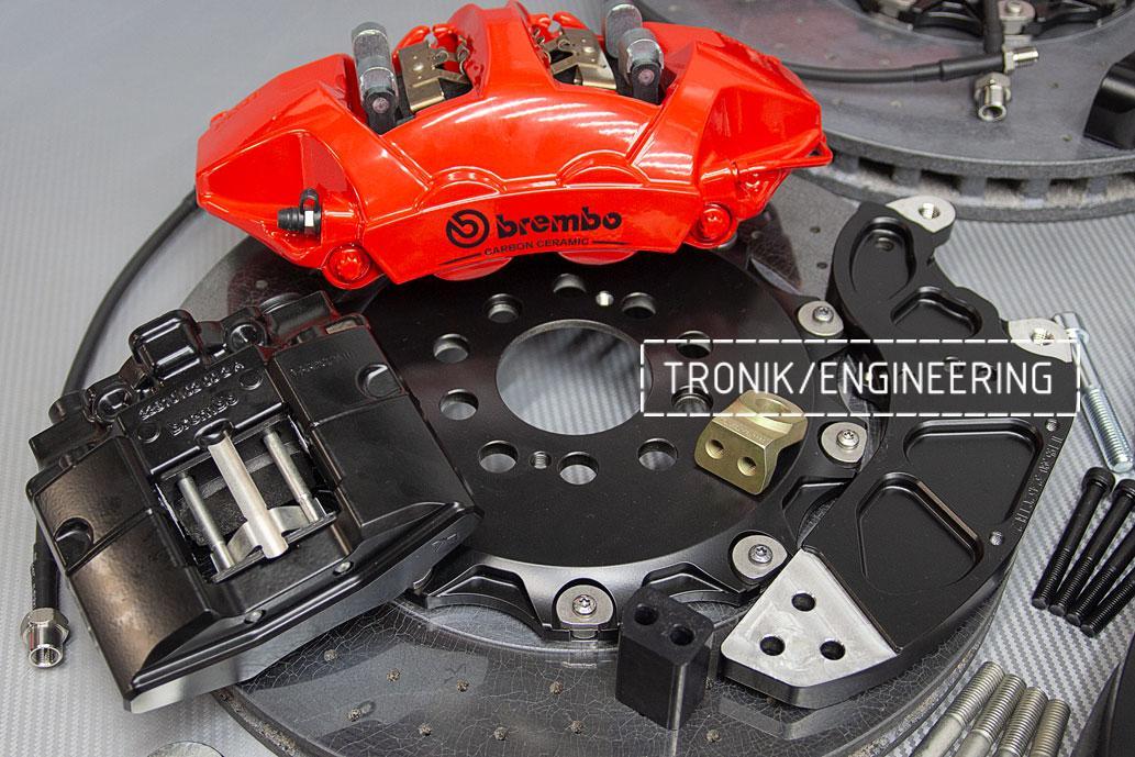Комплект карбон-керамической тормозной системы BMW X5/X6 F95/F96. фото 6