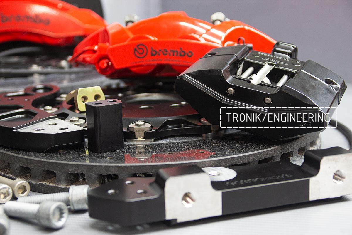 Комплект карбон-керамической тормозной системы BMW X5/X6 F95/F96. фото 7
