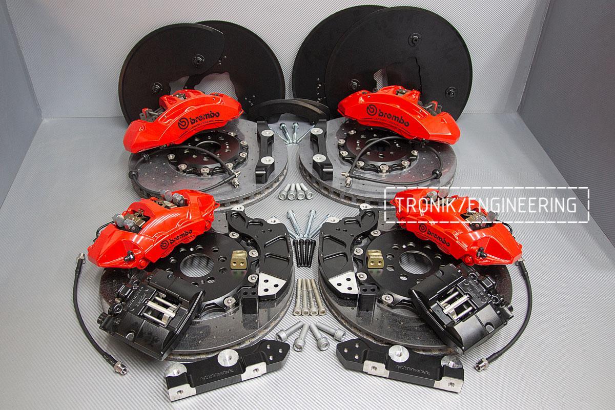 Комплект карбон-керамической тормозной системы BMW X5/X6 F95/F96. фото 8