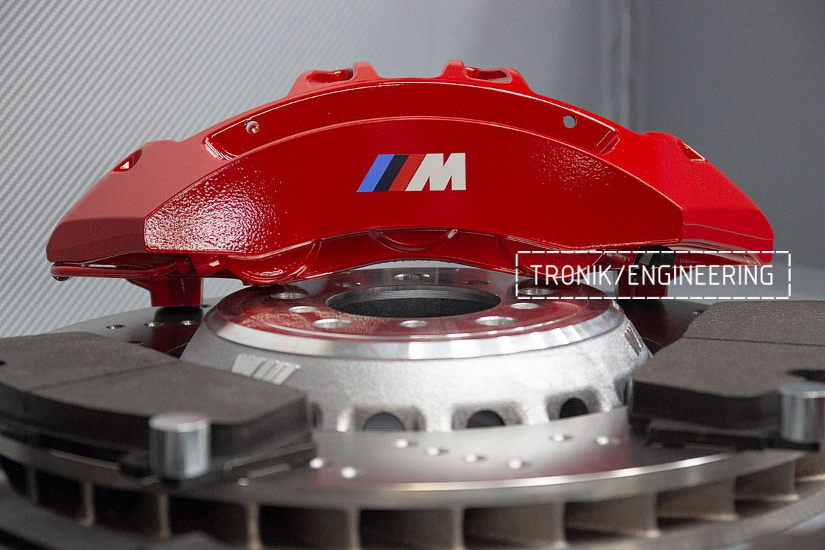 Комплект тормозной системы BMW M3 E92. Фото 10