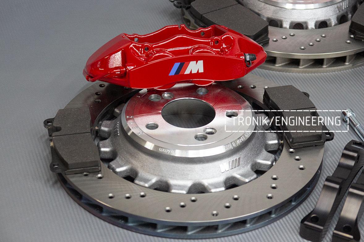 Комплект тормозной системы BMW M3 E92. Фото 4