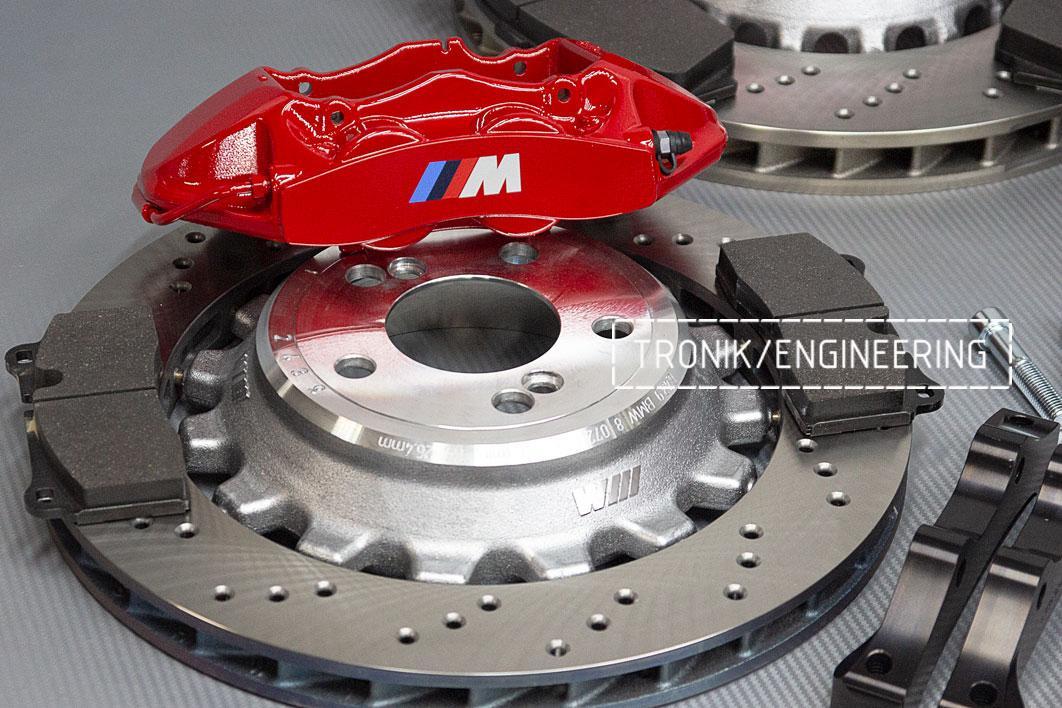 Комплект тормозной системы BMW M3 E92. Фото 5