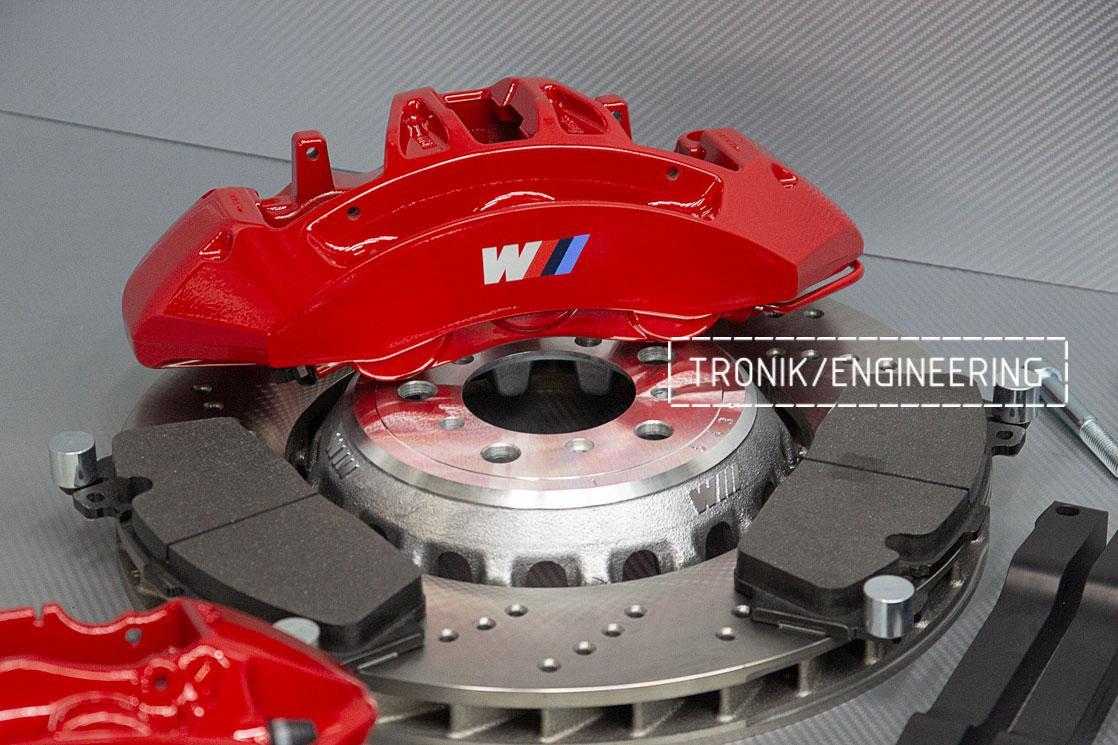 Комплект тормозной системы BMW M3 E92. Фото 6