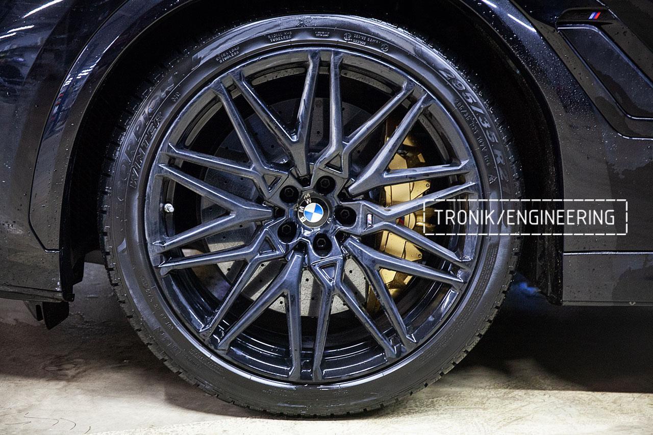 Карбон-керамическая система BMW X5/X6/X7 для F95/ F96 / G05 / G06 / G07. Фото 3