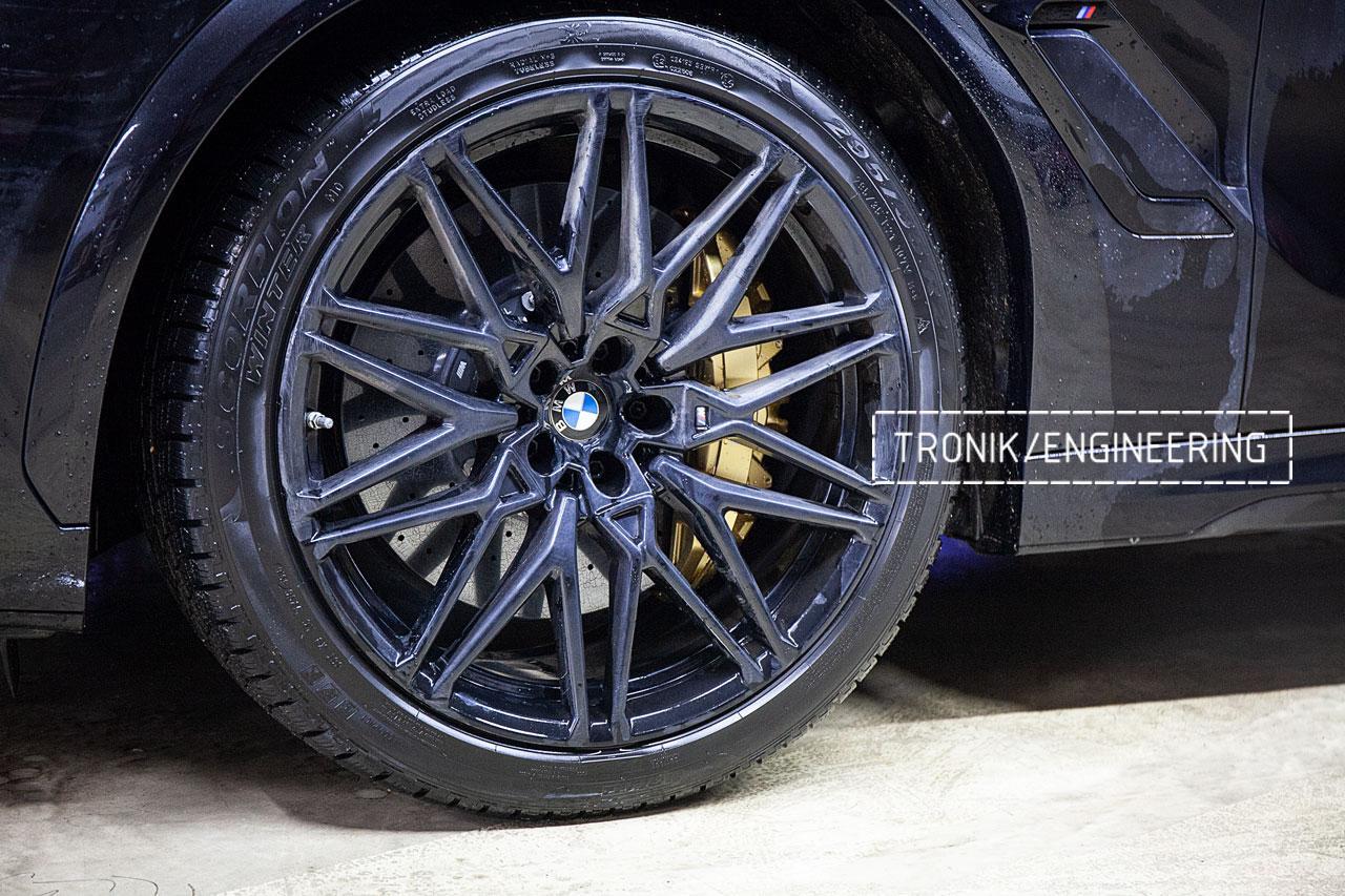 Карбон-керамическая система BMW X5/X6/X7 для F95/ F96 / G05 / G06 / G07. Фото 2