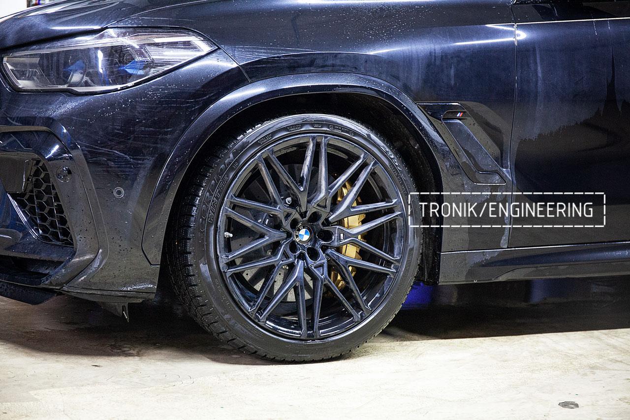 Карбон-керамическая система BMW X5/X6/X7 для F95/ F96 / G05 / G06 / G07. Фото 1