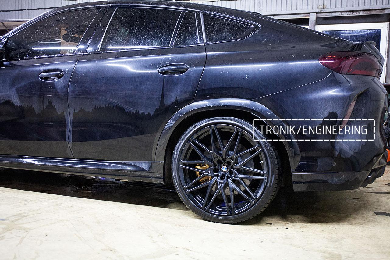 Карбон-керамическая система BMW X5/X6/X7 для F95/ F96 / G05 / G06 / G07. Фото 4