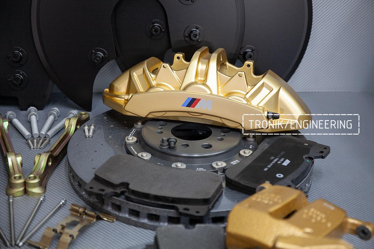 Комплект дооснащения карбон-керамической тормозной системой BMW X6 F96. фото 1