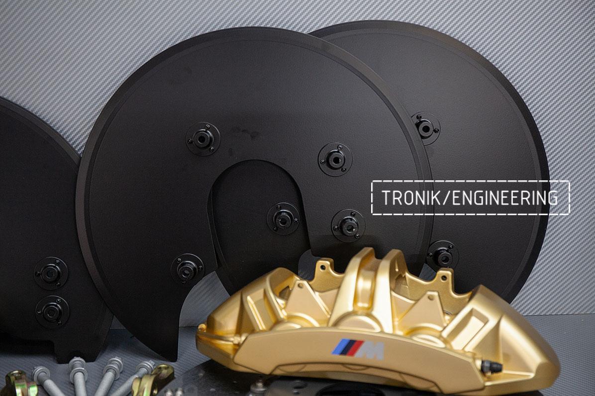 Комплект дооснащения карбон-керамической тормозной системой BMW X6 F96. фото 2