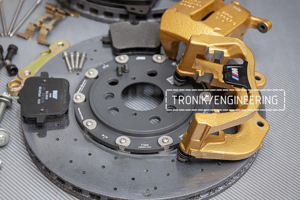 Комплект дооснащения карбон-керамической тормозной системой BMW X6 F96. фото 5