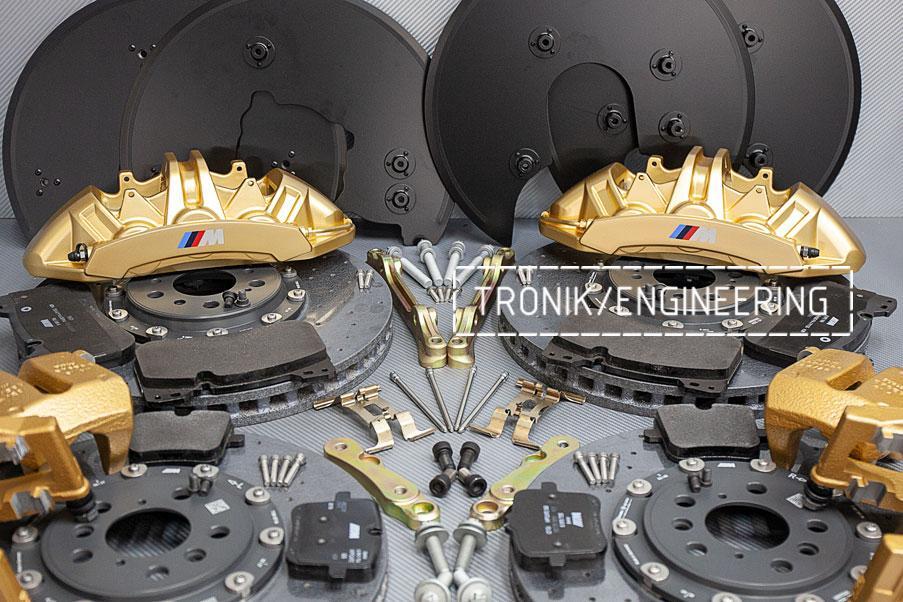 Комплект дооснащения карбон-керамической тормозной системой BMW X6 F96. фото 8