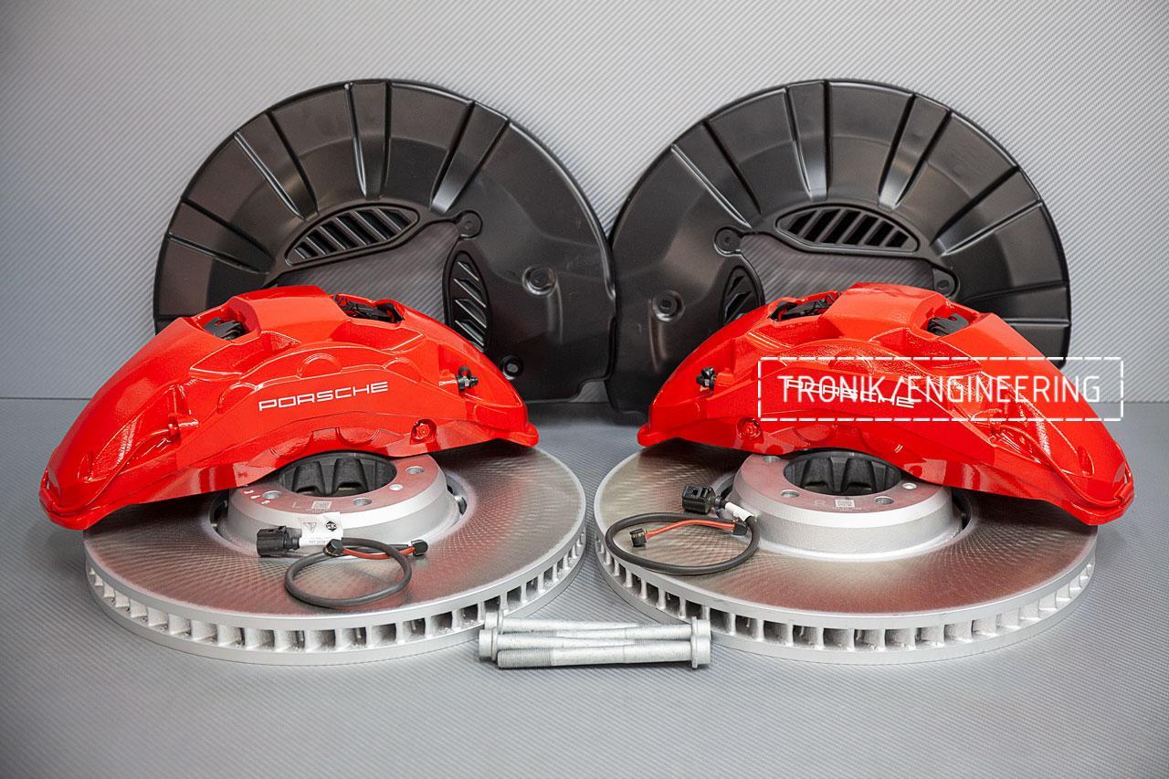 Комплект тормозной системы Porsche Panamera 971 передняя ось. фото 2