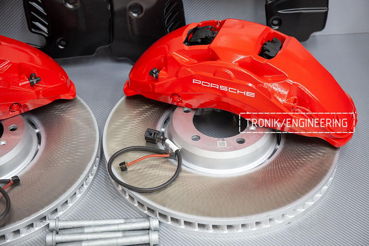Комплект тормозной системы Porsche Panamera 971 передняя ось. фото 3
