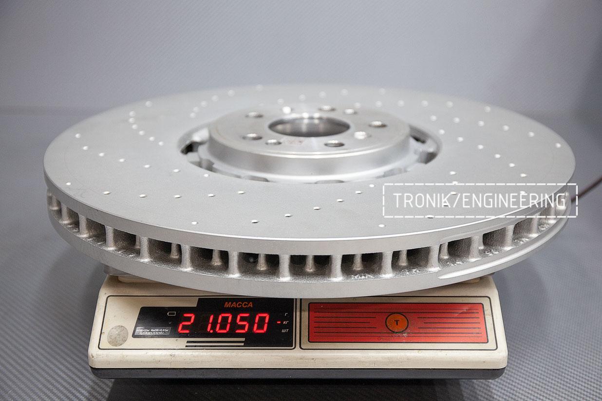 Передний тормозной диск 420-40 мм