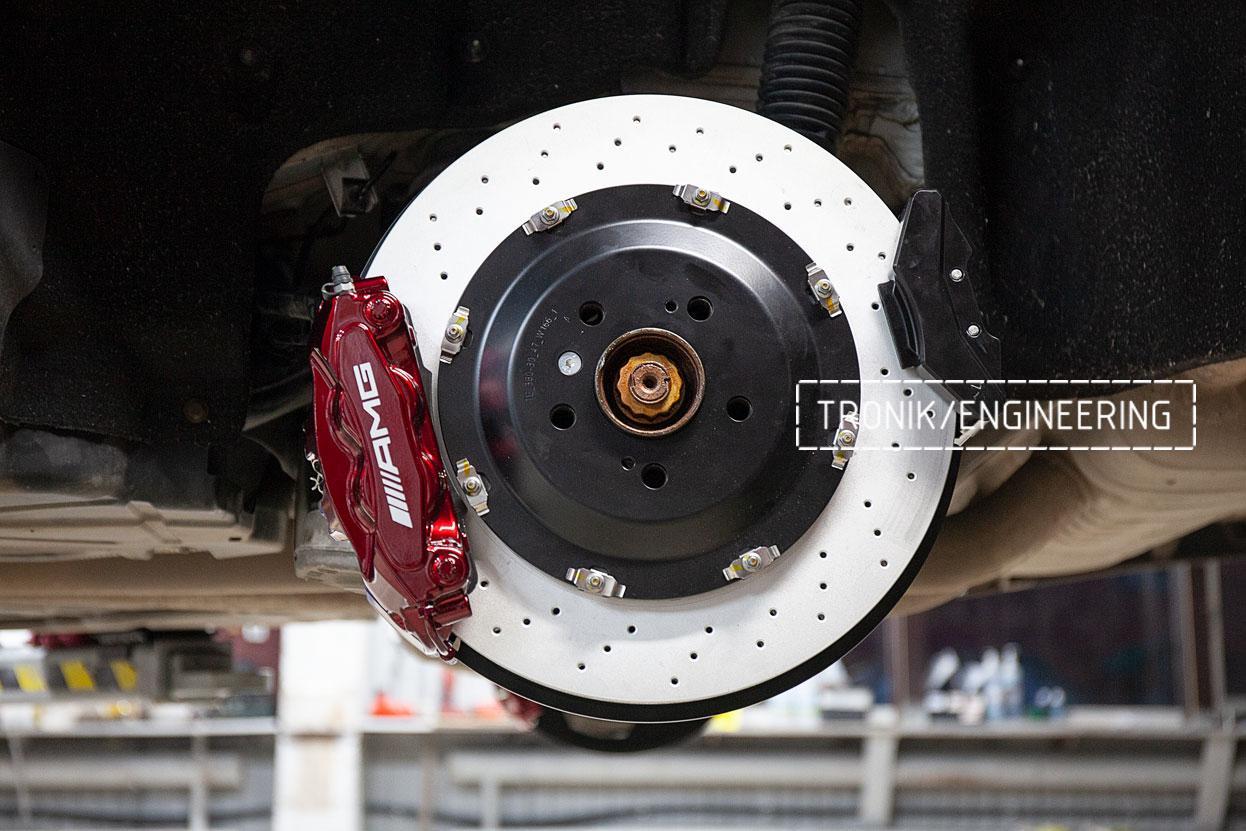 Тормозная система задней оси Mercedes-Benz GLE Coupe W292. фото 1