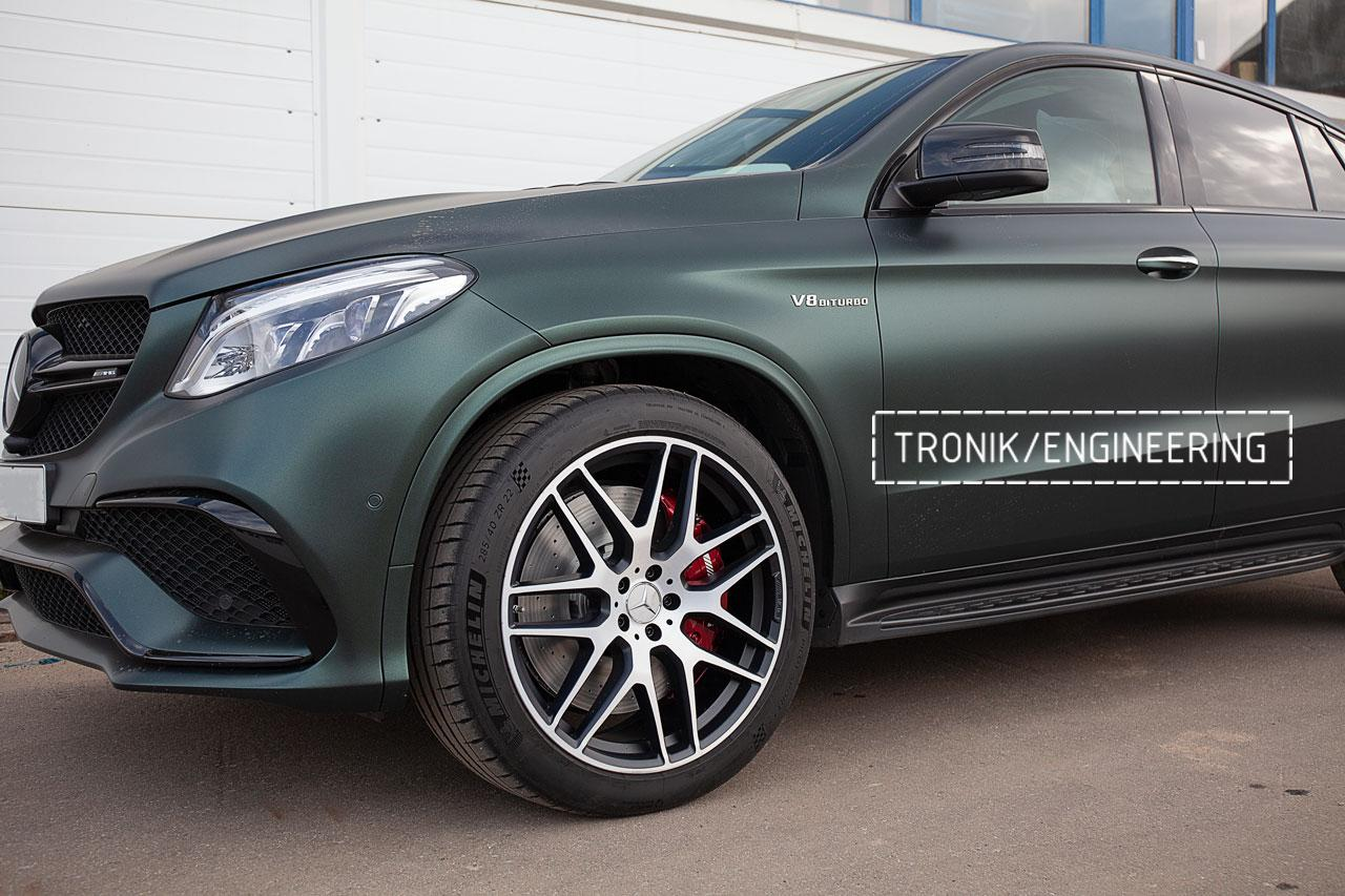 Тормозная система передней оси Mercedes-Benz GLE Coupe W292. фото 4