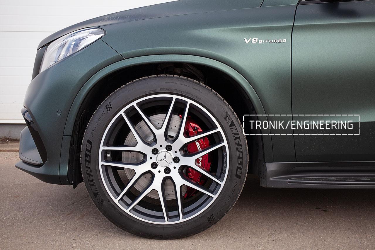 Тормозная система передней оси Mercedes-Benz GLE Coupe W292. фото 3