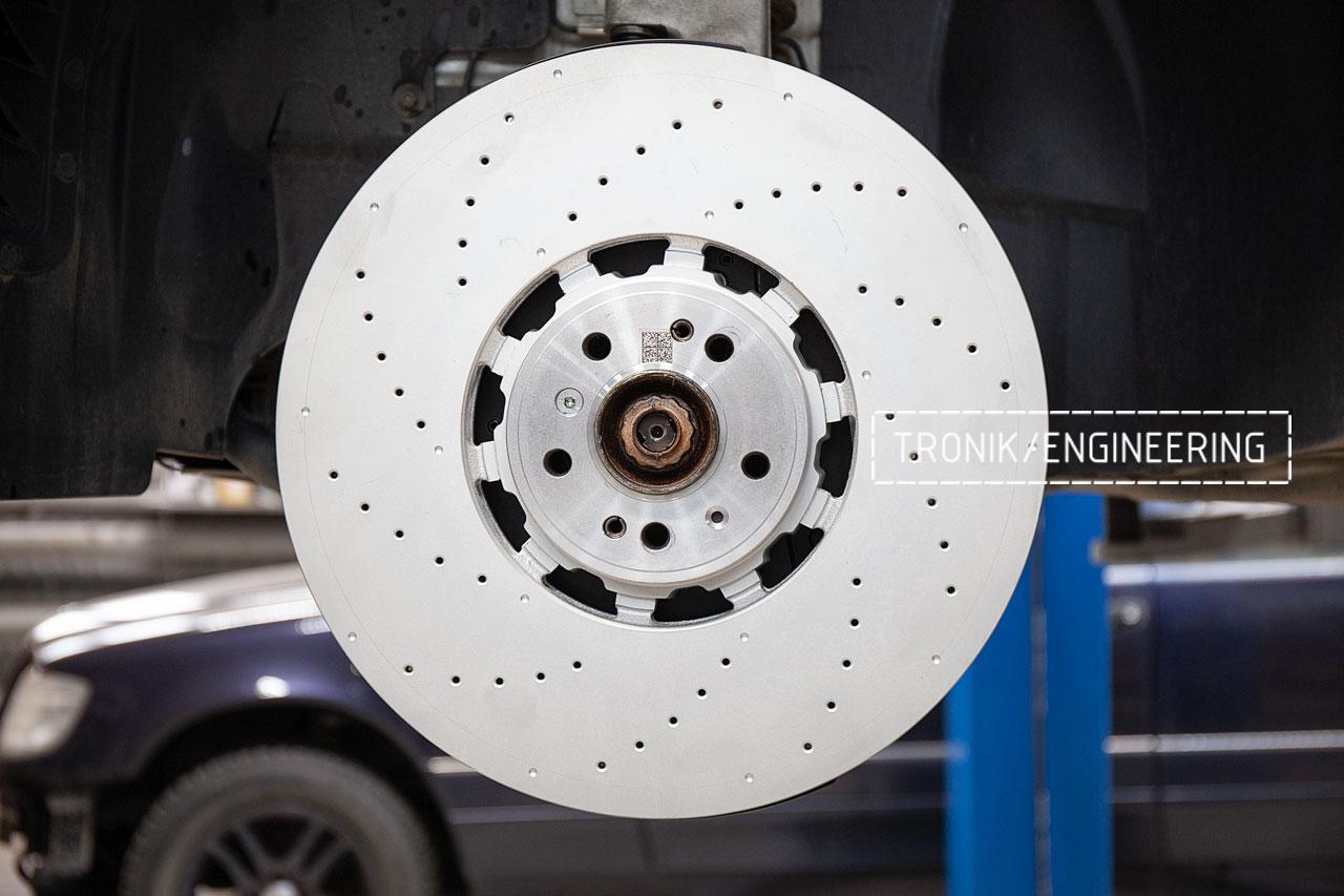 Передний тормозной диск 420-40 мм. фото 1