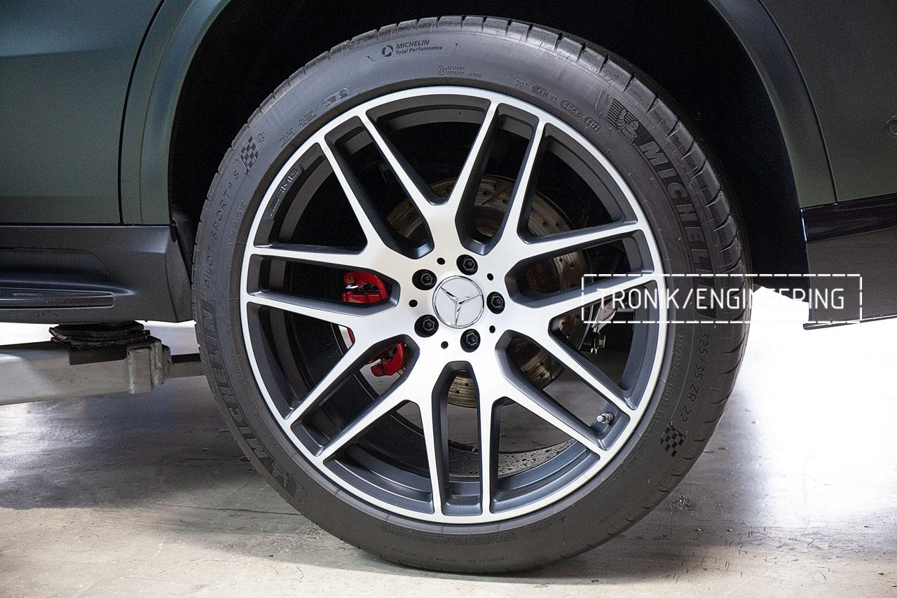 Оригинальная тормозная система Mercedes-Benz GLE Coupe W292 OEM. Фото 2