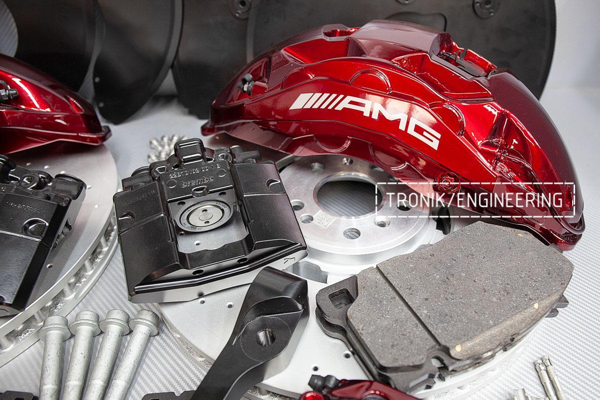 Комплект тормозной системы Mercedes-Benz GLE Coupe W292 OEM. Фото 5