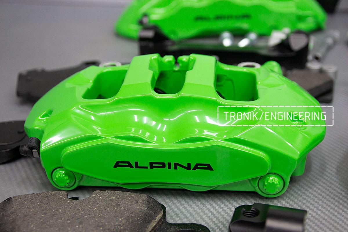 Тормозная система BMW Alpina B6 E63. фото 5