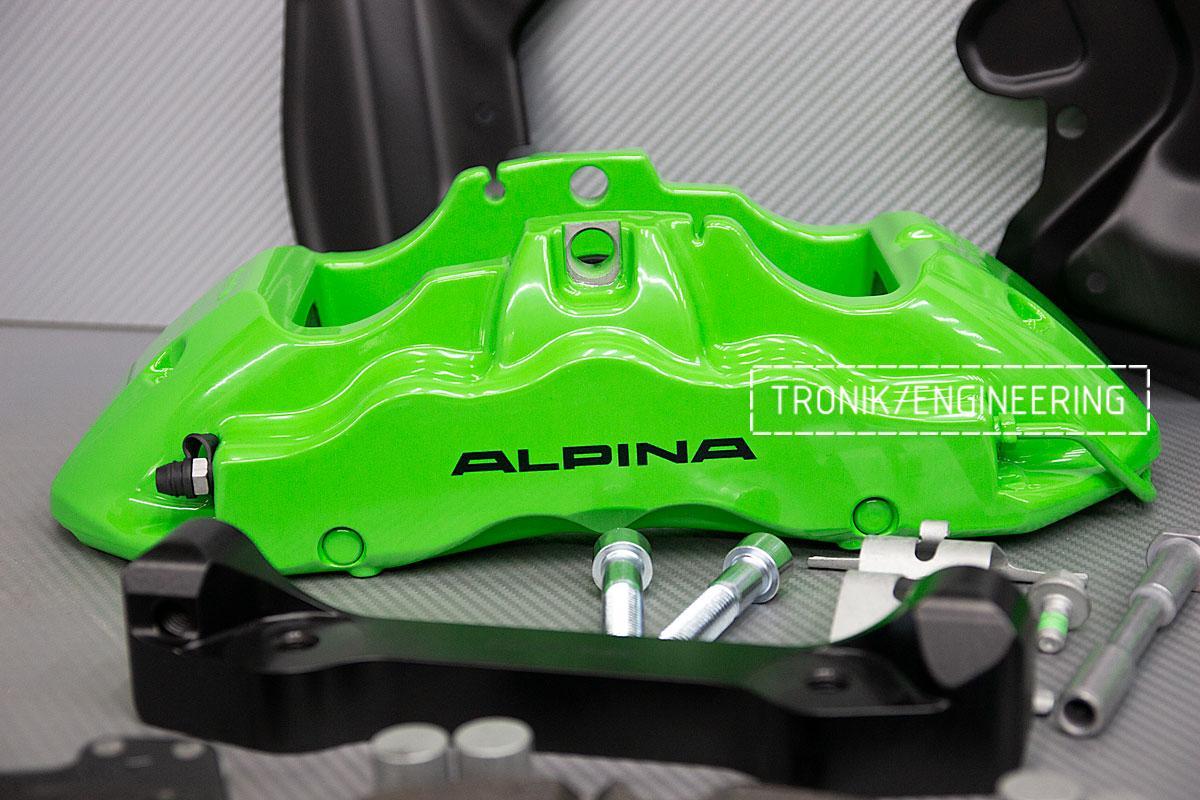 Тормозная система BMW Alpina B6 E63. фото 6