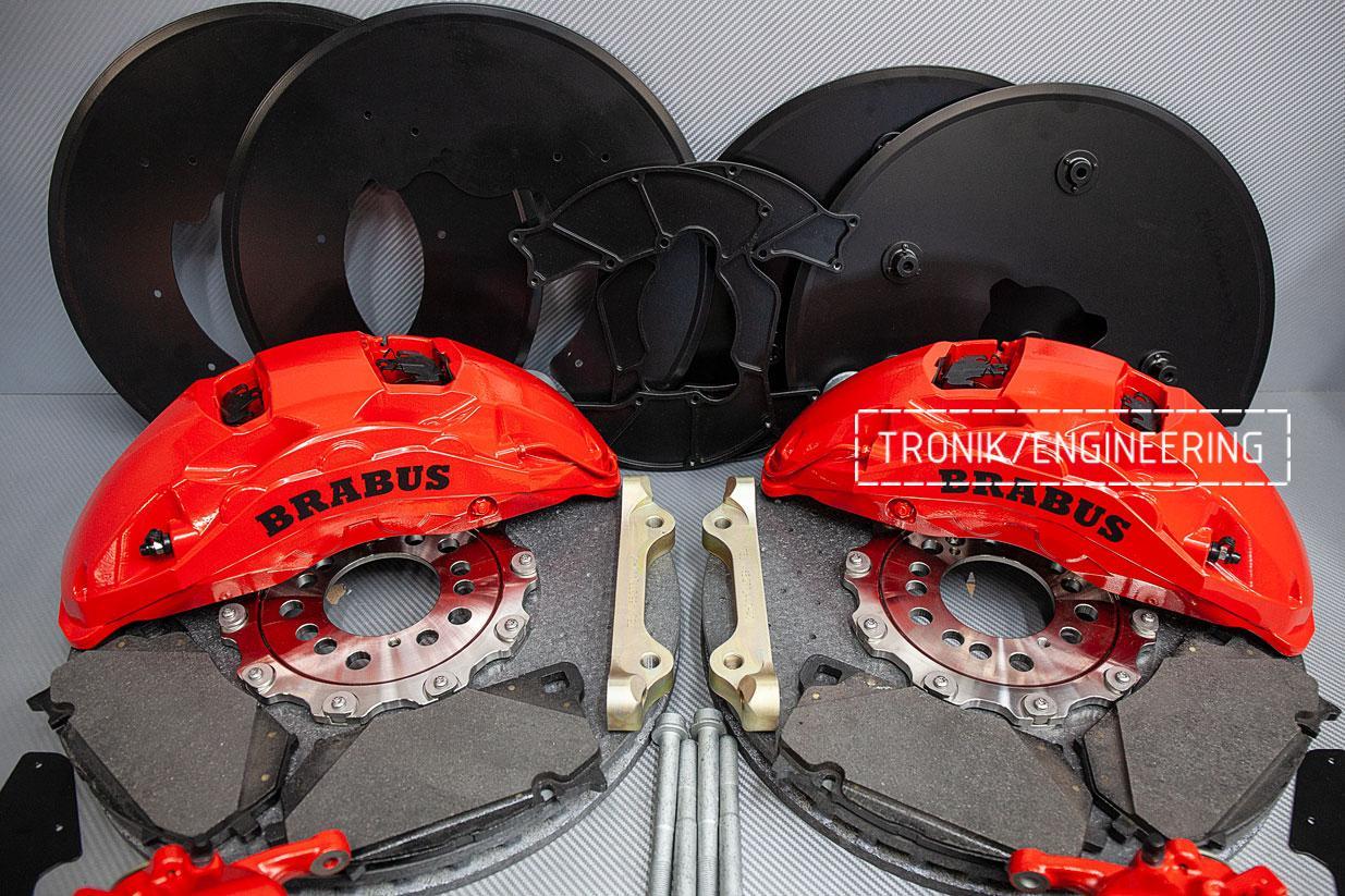 Комплект карбон-керамической тормозной системы  Mercedes-Benz W463276. фото 5