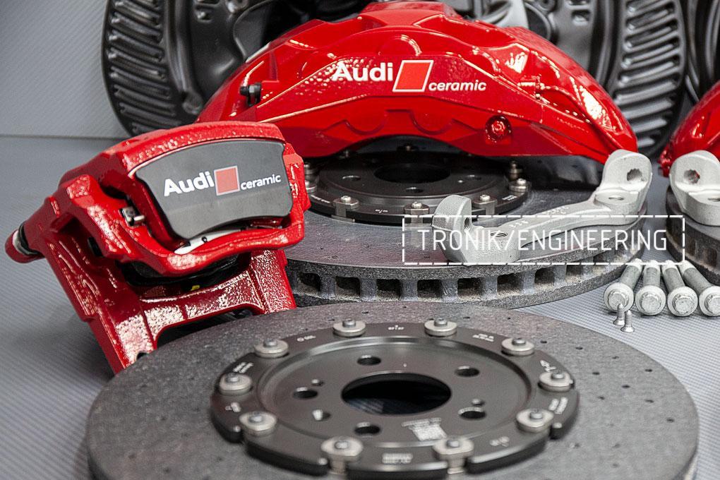 Комплект карбон-керамической тормозной системы Audi SQ8. фото 1