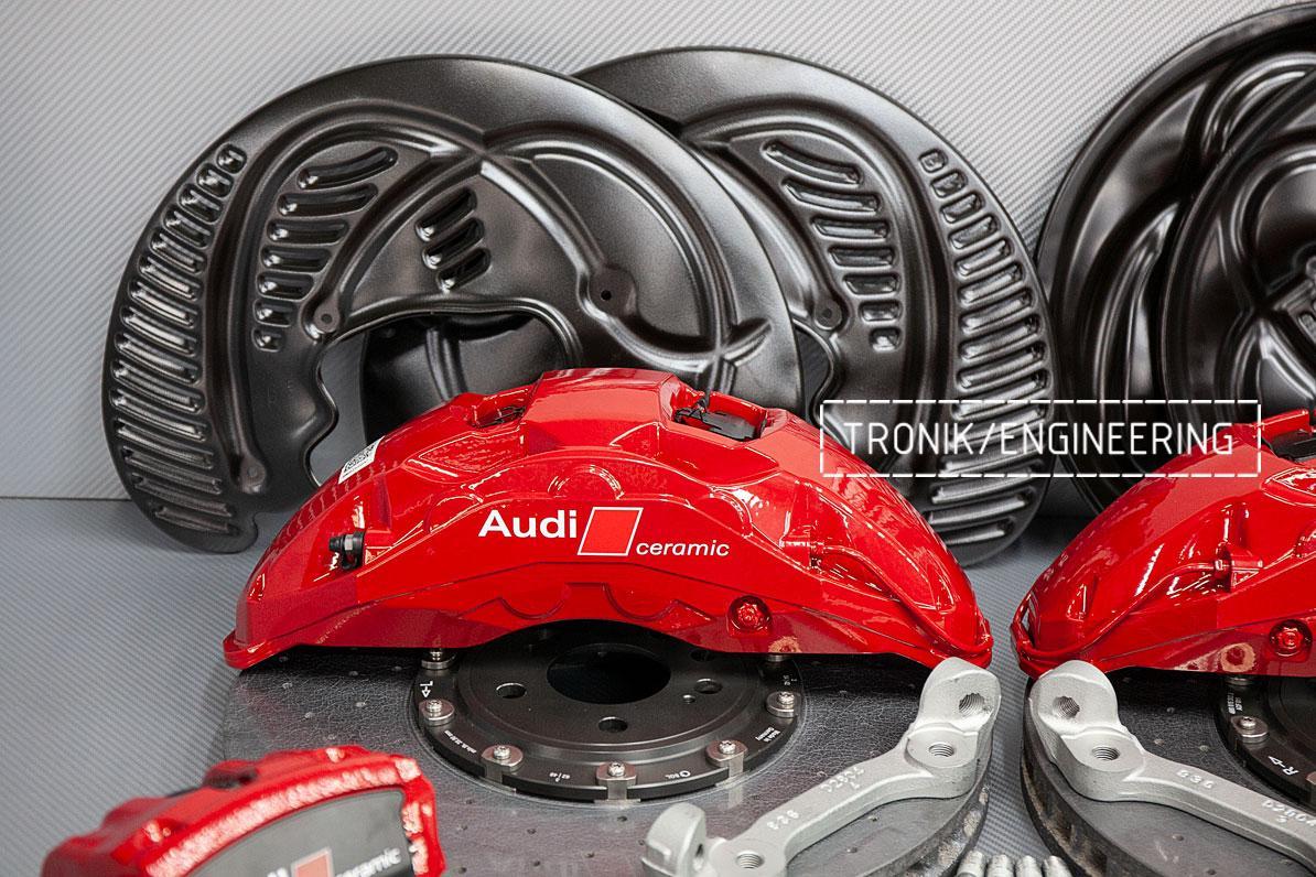 Комплект карбон-керамической тормозной системы Audi SQ8. фото 2