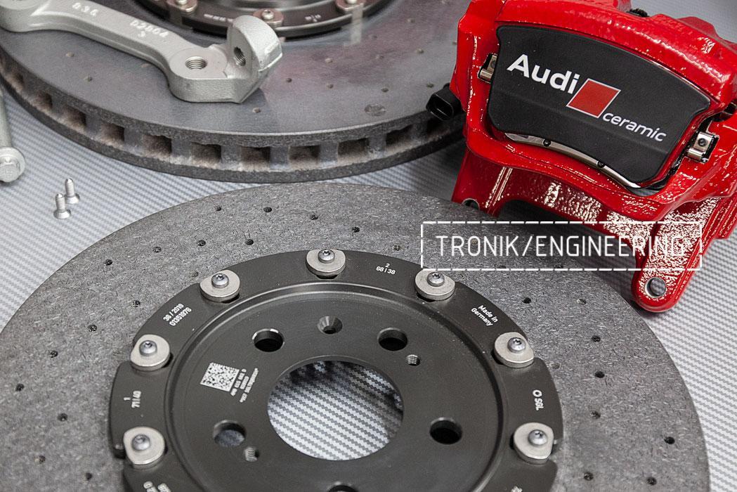 Комплект карбон-керамической тормозной системы Audi SQ8. фото 4
