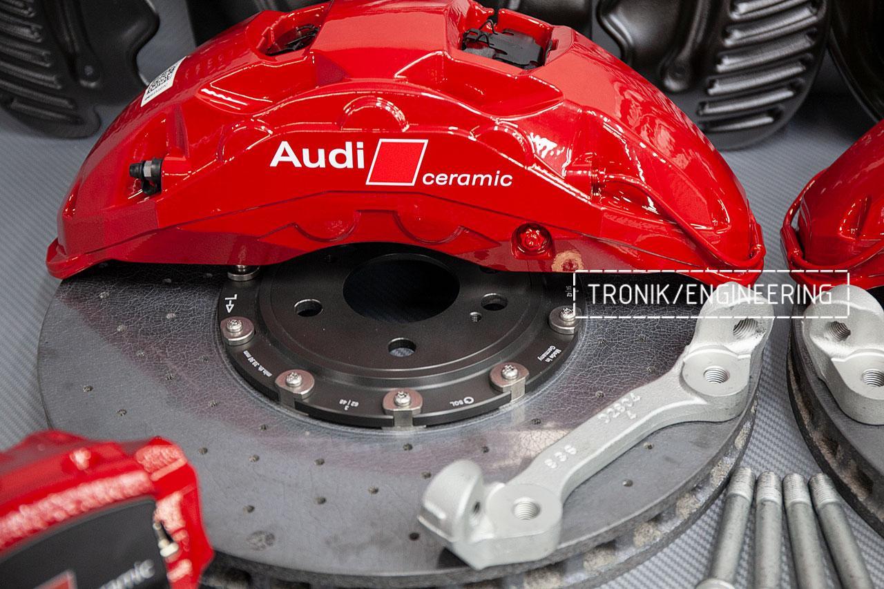 Комплект карбон-керамической тормозной системы Audi SQ8. фото 5