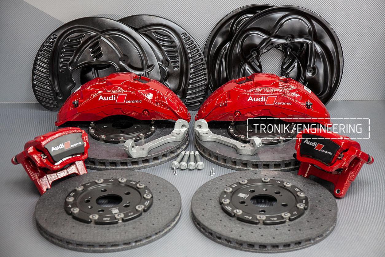 Комплект карбон-керамической тормозной системы Audi SQ8. фото 6