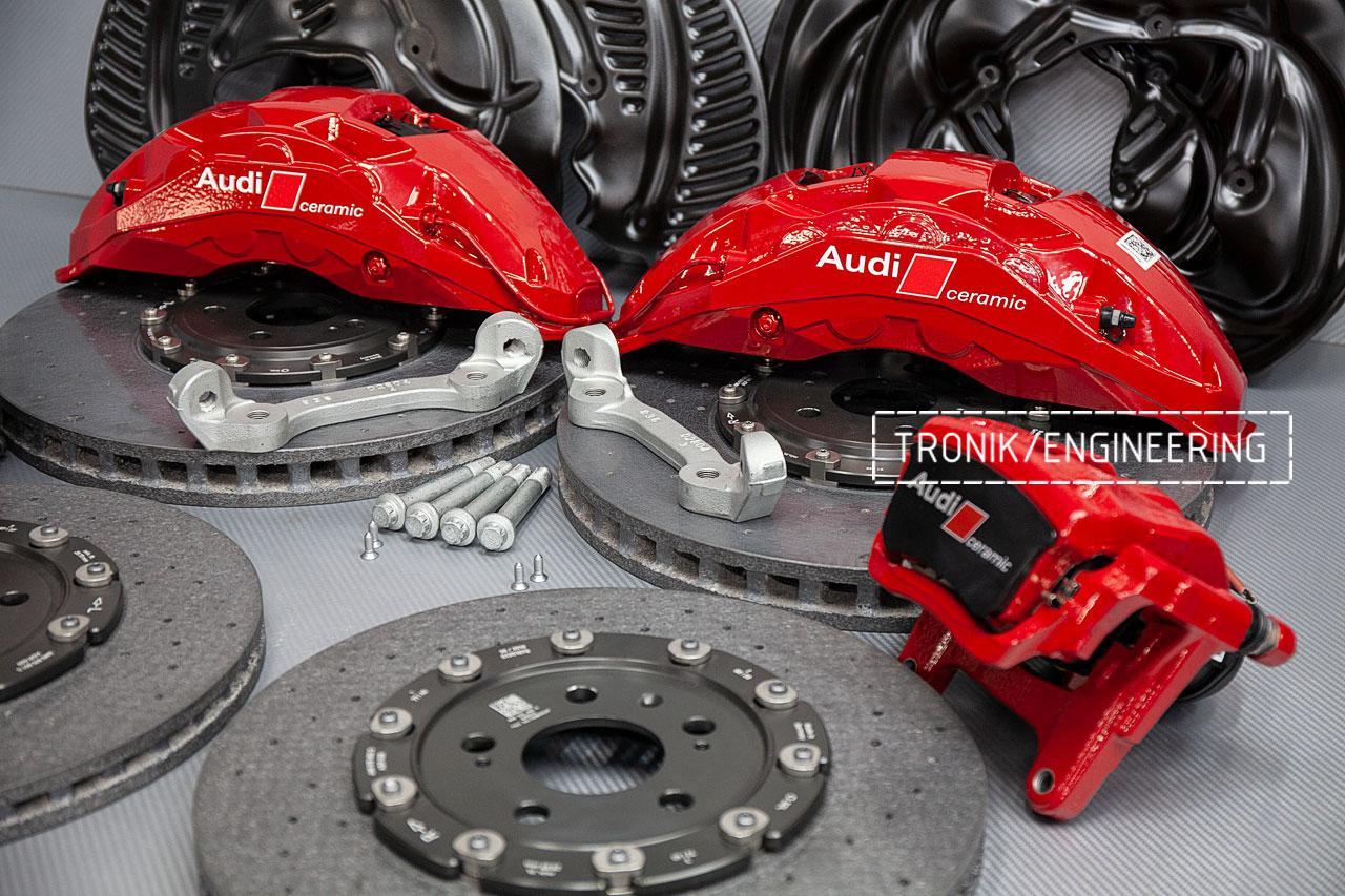 Комплект карбон-керамической тормозной системы Audi SQ8. фото 8